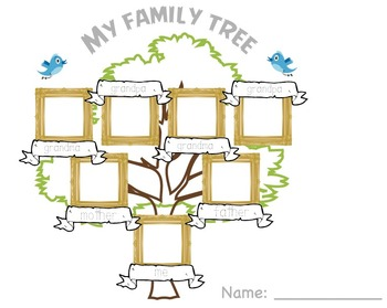 Family+Tree+Worksheet+Printable | School | Family tree worksheet