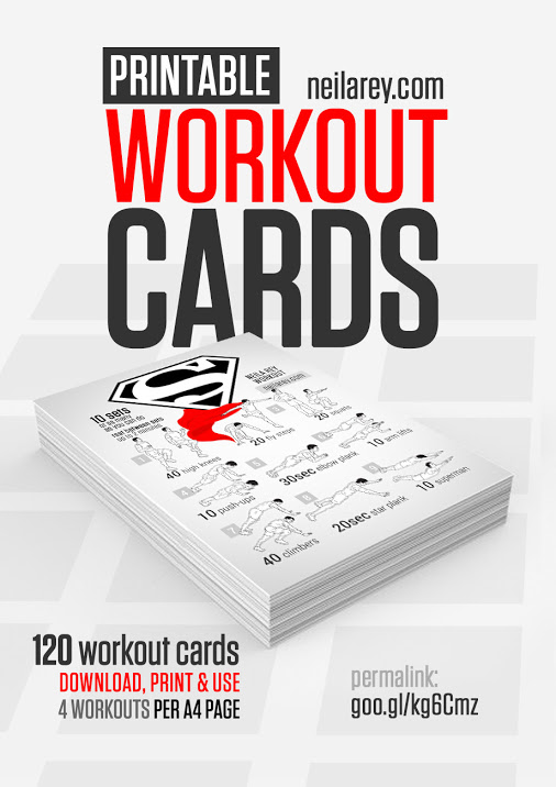 Printable Exercise Cards (95+ images in Collection) Page 2