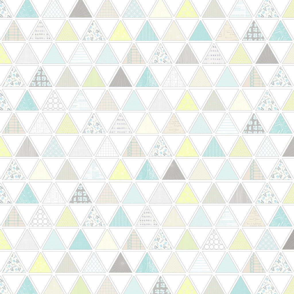 1 pattern filled triangles   free printable digital patter… | Flickr