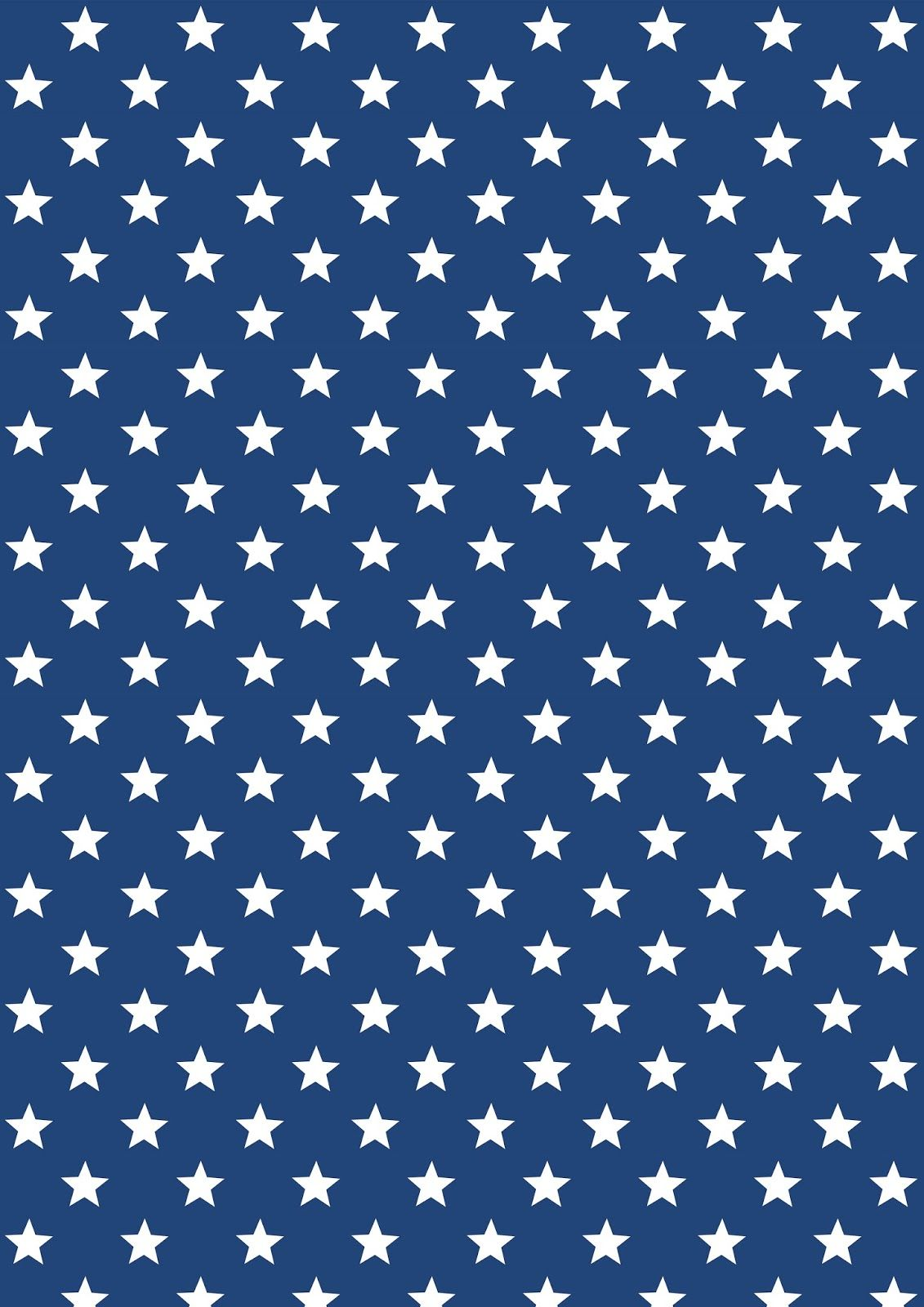 Free printable stars and stripes pattern papers   ausdruckbares