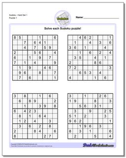 Free Sudoku Printables (108+ images in Collection) Page 2