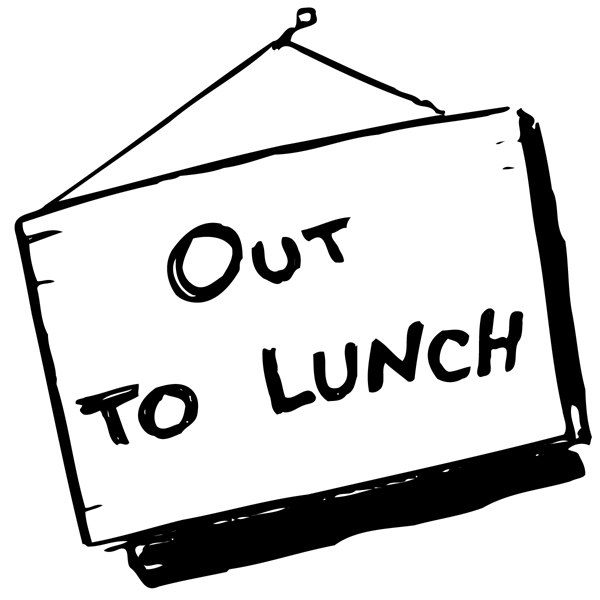 Printable Out To Lunch Sign – Free Printable Signs