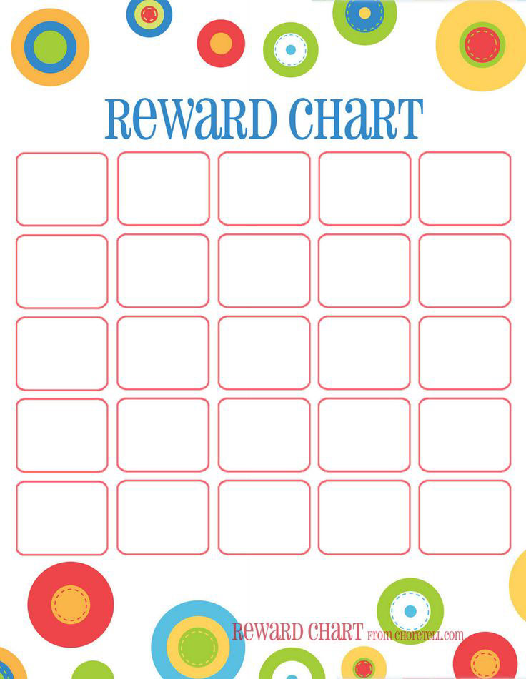 40 Printable Reward Charts for Kids (PDF, Excel & Word)