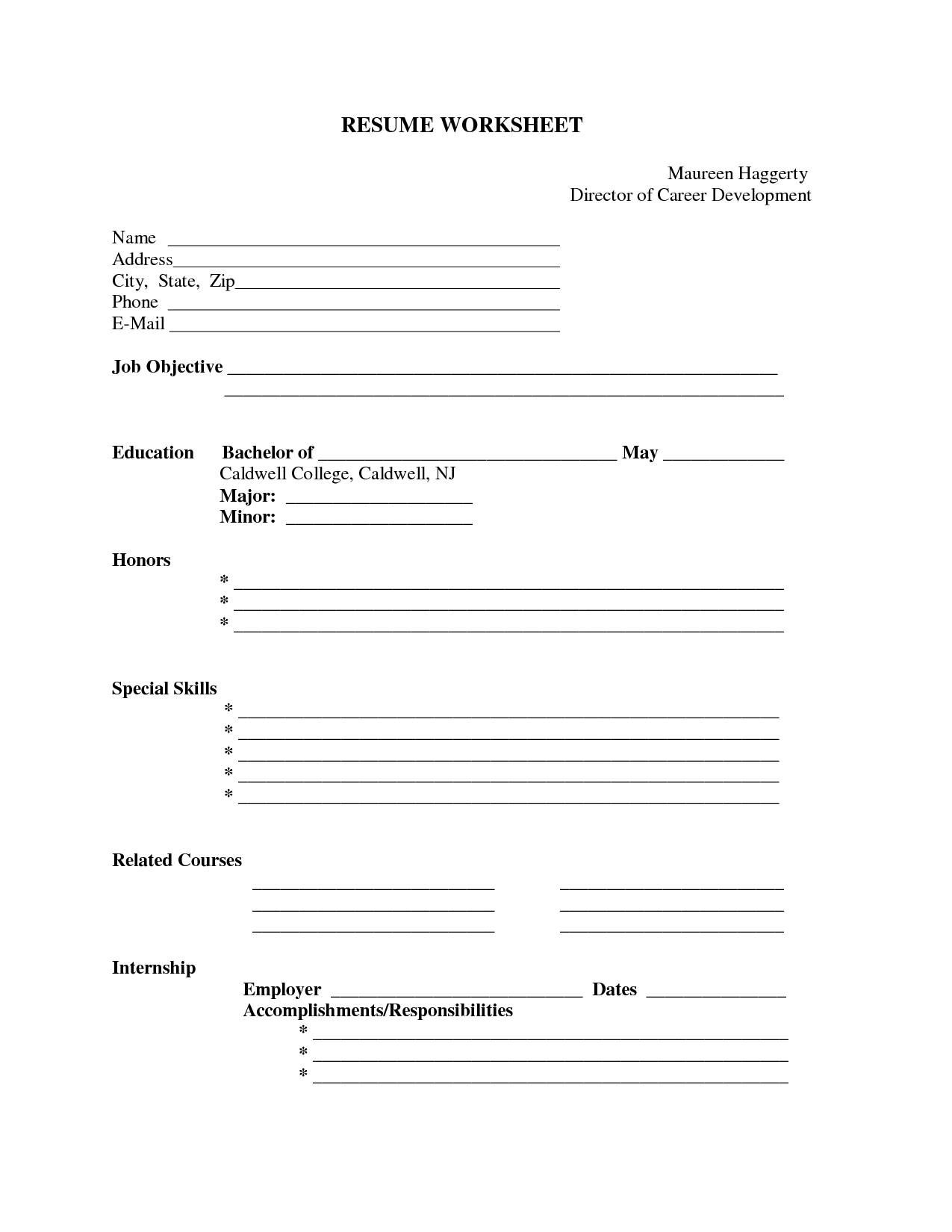 Pin by resumejob on Resume Job | Free printable resume templates
