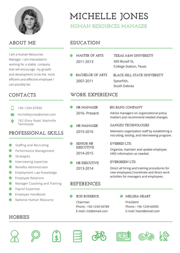 Printable Resume Template   35+ Free Word, PDF Documents Download