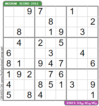 Sudoku   9x9, 6x6 and Samurai Puzzles